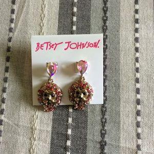 Brand New Betsy Johnson Earrings